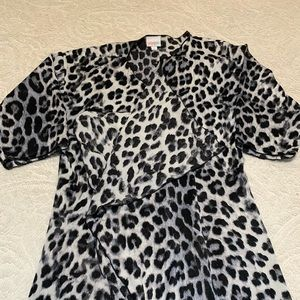 LuLaRoe Other - Leopard Print Kimono